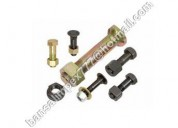 Hex bolts with nuts | high-grade bolts | bansalbol