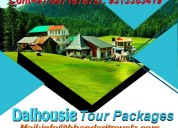Book dalhousie travel package with btpl