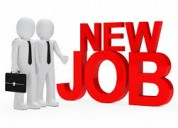 Requirement for part time work @home base
