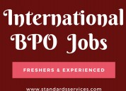 International bpo job