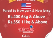 Atlantic international courier service