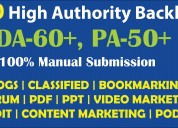 100 high da, pa seo backlinks only at $5