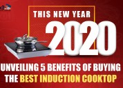 Buying the best induction cooktop this new year