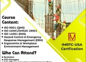 Diploma in health safety environment - usa certfic