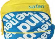 Schoolbasix - buy safari bold yellow school backpa