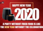 Celebrate the new year with best air fryer