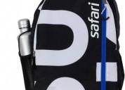 Schoolbasix- buy safari surf black school backpack