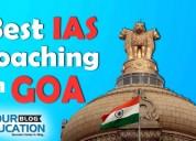 Top ias coaching institute  in goa