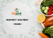 Order organic vegetables online