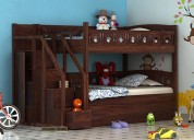 Bunk bed: buy online in india at woodenstreet