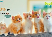 Up to 83% off cat products at dogspot