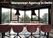Manpower agency in delhi