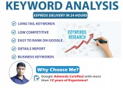 Profitable keywords research