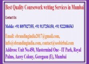 Best quality coursework writing services in mumbai