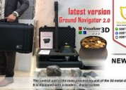 Ground navigator 3d imaging for gold hunting