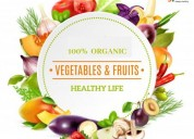 Organic fruits and vegetables online