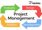 Projectopia – wordpress project management plugin