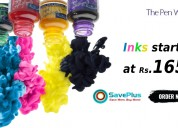 Inks starting at rs.165 at thepenworld