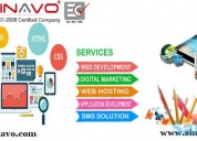 Affordable website design and development zinavo