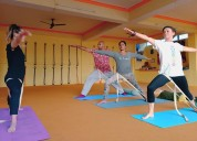 Iyengar yoga in rishikesh india