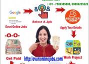 Do want genuine online home based worksimple