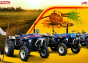 Best deals on powertrac tractor's price and specif