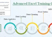 Best advanced excel training-sla consultants noida