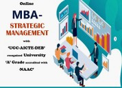 Mba - strategic management