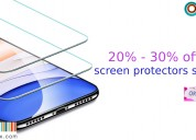 20% - 30% off screen protectors sale