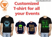 T-shirt printing | customized t-shirt for men
