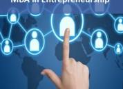 Mba in entrepreneurship management