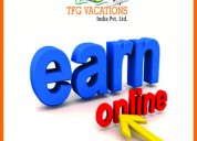 Online marketing at tourism company hiring fresher