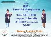 Mba in financial management