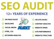 Complete website seo audit only at: $1