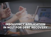 Insolvency application in nclt for debt recovery