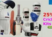25% off cricket kits