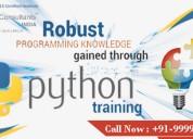 Attend best python training course in noida