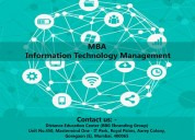 Mba - information technology management