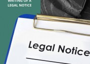 Best legal notice lawyers in delhi