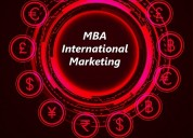 Mba - international marketing