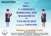 Mba in e-commerce marketing and management