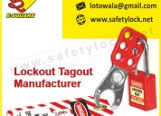 Lockout tagout manufacturer and supplier in india