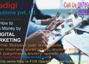 Work from home, no selling and no target.