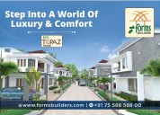 Villas in thrissur | builders in thrissur