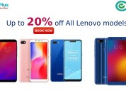 Up to 20% off all lenovo models