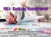 Mba in banking management
