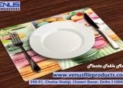 Plastic table mats | pvc table mats
