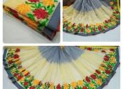 Ss fashion soft silk sarees uniform desiger
