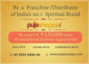 Start the new year with puja samagri franchise