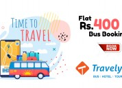 Flat rs.400 off bus bookings at travelyaari